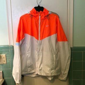 Nike jacket hooded XL